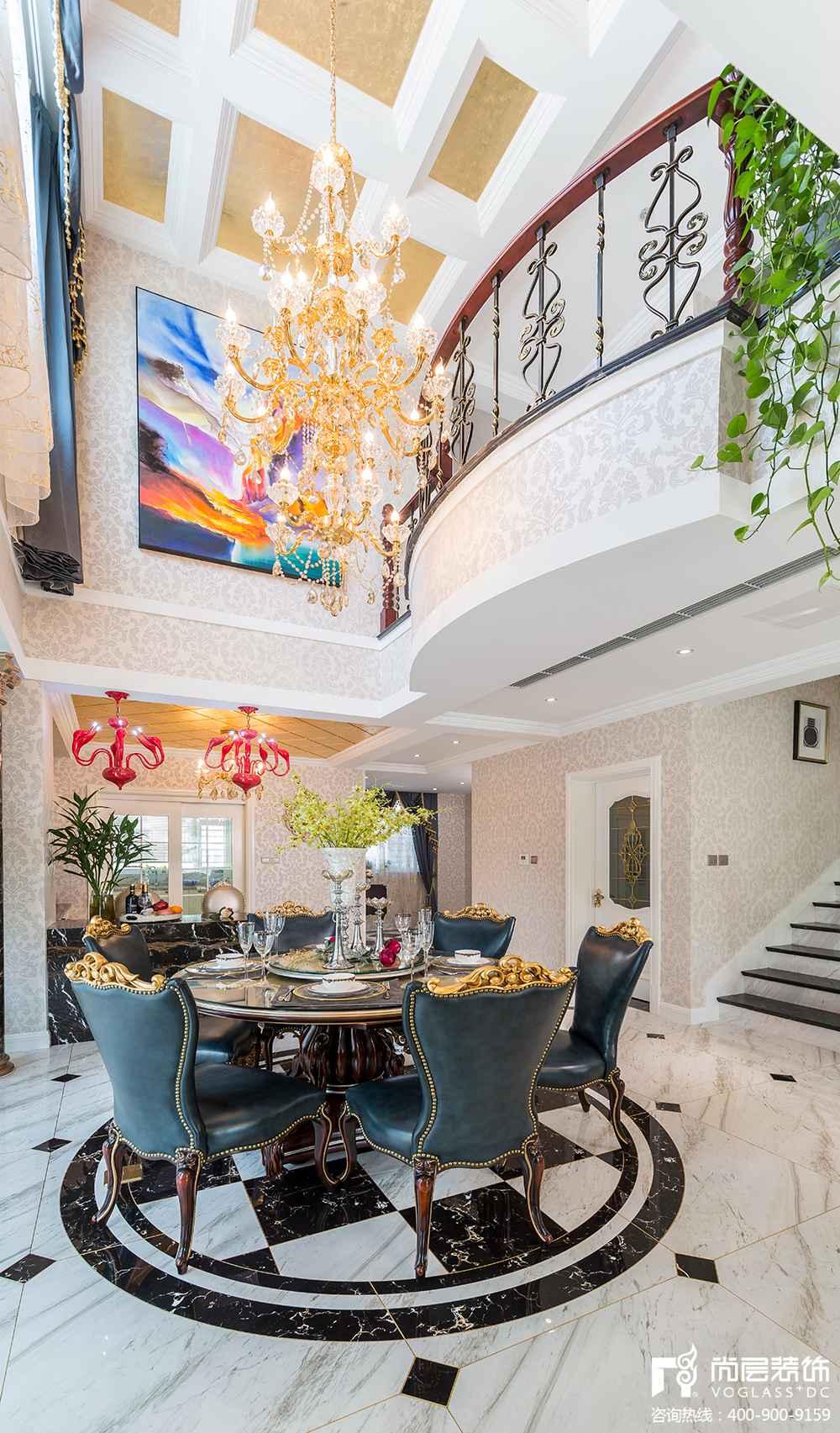 别墅挑高技巧,客厅装饰