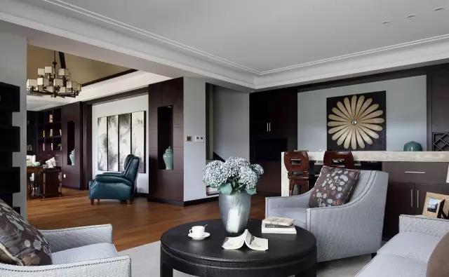 400平混搭风格别墅装修效果图 和谐完美诠释东方禅韵