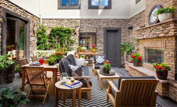 别墅中庭景观设计要点