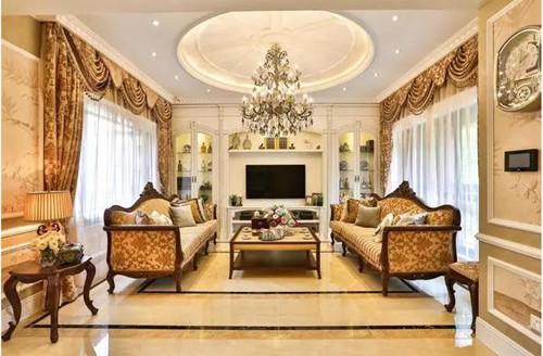 联排别墅装修效果图 现代时尚高贵不凡